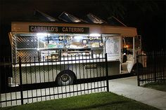 Awesome idea to have a food truck caterer