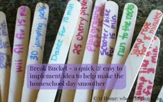 Break Bucket 3