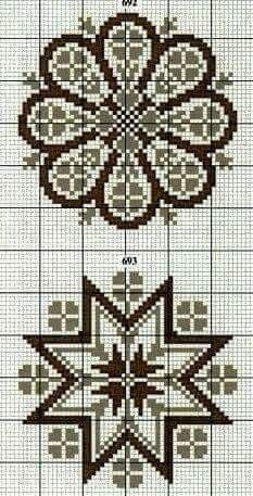 Take a look at this superb photo - what an innovative theme Biscornu Cross Stitch, Xmas Cross Stitch, Cross Stitch Borders, Cross Stitch Flowers, Cross Stitch Charts, Cross Stitch Designs, Cross Stitching, Cross Stitch Embroidery, Embroidery Patterns