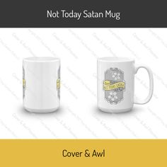 This sturdy white, glossy ceramic mug is an essential to your cupboard. This brawny version of ceramic mugs shows its true colors with quality assurance to with