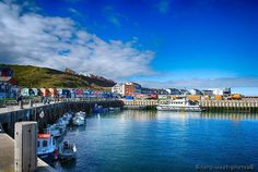 Hafen und Hummerbuden auf Helgoland