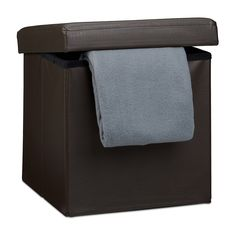Costway Faux Leather Ottoman Pouffe Storage Toy Box Foot Stools Seater Bench Seat (Brown) | All Home Stuff | Pinterest | Leather ottoman Foot stools and ...  sc 1 st  Pinterest & Costway Faux Leather Ottoman Pouffe Storage Toy Box Foot Stools ...