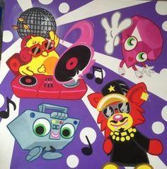 Moshi Canvas Custom Canvas, Disney Characters, Fictional Characters, Minnie Mouse, Art, Custom Screens, Art Background, Kunst, Gcse Art