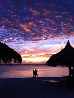 I LOVE the Aruba sunsets. So beautiful.