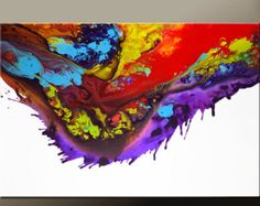 Large Abstract Art Prints 16x20 Contemporary Modern by wostudios