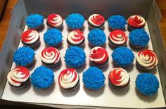 Dr Suess cupcakes