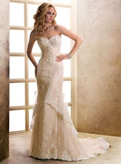 petite organza slim aline sweetheart bridal gown photos   ) tulle wedding dress FLSW90 A-line (Princess) tulle wedding dress ...