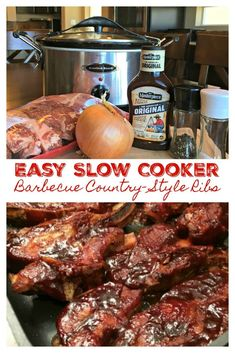 EASY SLOW COOKER BAR