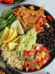 Mexican Food Recipes, Vegetarian Recipes, Healthy Recipes, Healthy Meal Prep, Healthy Eating, Vegan Gains, Dinner Is Served, Easy Food To Make, Recipes From Heaven