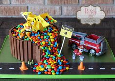 Peggy Does Cake, Brandon, Mississippi ~ KitKat and M&M Paw Patrol Cake 7th Birthday Cakes, Paw Patrol Birthday Cake, Paw Patrol Cake, Paw Patrol Party, 4th Birthday Parties, Isaiah 4, Cumple Paw Patrol, Simple Cake Designs, Second Birthday Ideas
