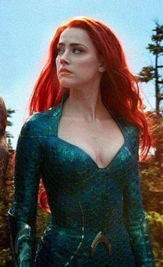 Amber Heard As Mera In Aquaman 2018 Movie Wallpapers Superheroes