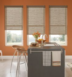 Bali® Roller Shades: Light Filtering Textures & Patterns
