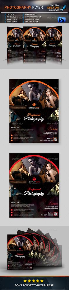 #PhotographyFlyer - Events Flyers.Download here: https://graphicriver.net/item/photography-flyer/17111204?ref=arroganttype