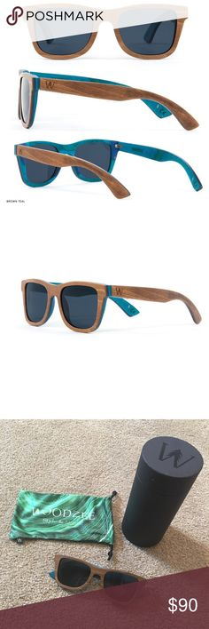 1e68c4c0dd wooden sunglasses · WoodZee  Unisex Alpine Skateboard Sunglasses (NEW)  Brand new   never used