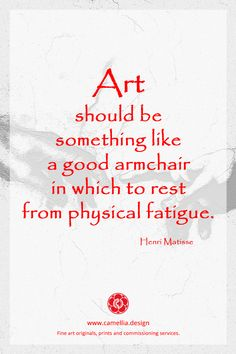 Inspiration from the artist Henri Matisse … artquote quote Matisse HenriMatisse 399413060704391435 Matisse Art, Henri Matisse, Art Journal Inspiration, Life Inspiration, Acrylic Painting Lessons, Painting Art, Matter Quotes, Motivational Quotes, Inspirational Quotes