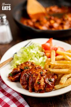 Delicious Rich Diet Coke Chicken - a popular dish that the whole family will dig in and enjoy!! gluten free, dairy free, Slimming World and Weight Watchers friendly #glutenfree #dairyfree #slimmingworld #weightwatchers #chicken
