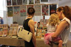 Art print display at The Big Crafty, July 2013 | Flickr - Photo Sharing!