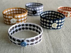 Wren Handmade: Crocheted Bracelets - the purl bee