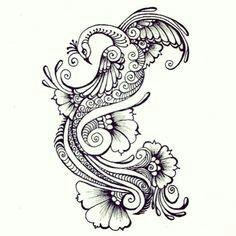 Henna type Rangoli