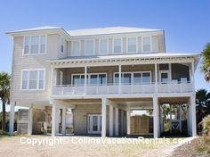 Reel Close ~ West Gulf Beach ~ Across Street ~ St. George Island Florida - Collins Vacation Rentals