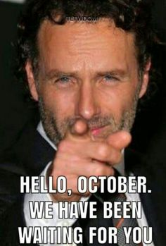 The Walking Dead #twd.. NO! we've been waiting for you.