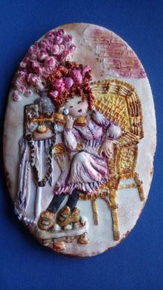 Hablando con mi amor! - Cake by Lydia Oviedo
