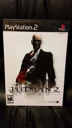 Hitman 2: Silent Assassin (Sony PlayStation 2, 2002 NTSC) Complete With Manual