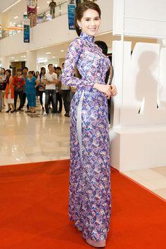 Thời trang sao Việt đẹp Thật ra Ngọc Trinh mặc áo dài còn gợi cảm gấp bội khi khoe nội y - vietbao.vn (lời tuyên bố phát cho các báo)