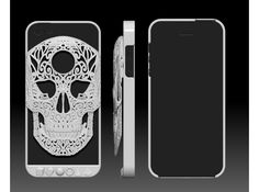 """My cousins art is so cool. Check it out :iPhone 5 """"Crania Revolutis"""" skull case by Joshua Harker"""