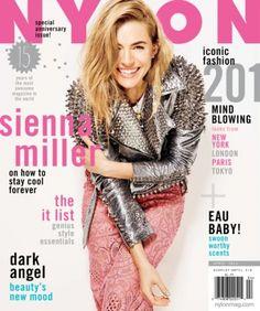 NYLON April 2014 Sienna Miller