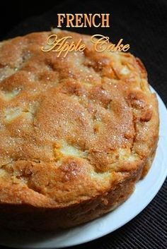 French Apple Cake Recipe - Yummy Tummy - - French Apple Cake Recipe – Yummy Tummy Dessert Yesterday i saw beautiful crispy apples lying in the fridge. I have no problem finishing those, because they are fresh and tasted amazin… Apple Cake Recipes, Baking Recipes, Apple Cakes, Apple Pie Cake, Recipe For Apple Cake, Meal Recipes, Apple Recipes Easy, Fall Cake Recipes, Easy Apple Cake