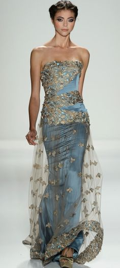 Venexiana ~ Evening Gown, Blue