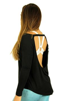Breezy Backless Pullover