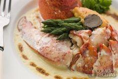 Receita de Lagosta à termidor em receitas de crustaceos, veja essa e outras receitas aqui!
