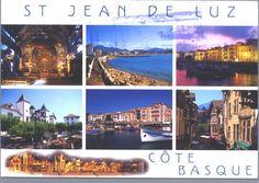 st. jean de luz postcards - Google Search