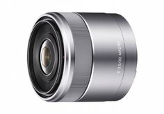 Sony SEL30M35 30mm f/3.5 e-mount Macro Lens by Sony. $278.00. From the Manufacturer                Exceptionally portable and versatile for everyday use Minimum working distance of only 2.4cm with 1.1 magnificationSimple, compact 6-group 7-element lens High-quality aluminum alloy construction for maximum durability Internal stepping motor and Rear-focusing design for video captureSmooth Manual Focusing w/ DMFCircular Aperture for beautiful defocusing of backgrounds   ...