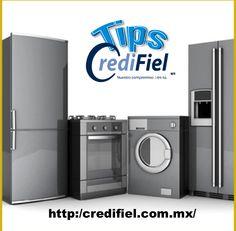 TIPS CREDIFIEL te dice Una parte clave para la elección de los electrodomésticos es el diseño. Entre mejor diseñados estén, mejor lucirá el espacio donde se coloquen, ya que las tendencias actuales están creadas en función del grado de funcionalidad que brindan al usuario. Sin menospreciar el confort y la tecnología. http://www.credifiel.com.mx/