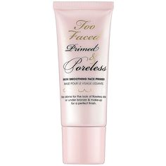 TOO FACED Primed & Poreless Skin Smoothing Face Primer - Nude - turns colorless #TooFaced