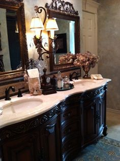 This is a photo from one of my most recent bath remodel projects. We gutted the room and started over.