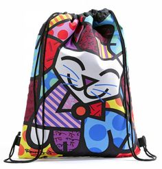 Overnight Bags with Cat Design | Duffle bag Cat, by Britto - DECOVISTA - Toms Drag & Art Gallery - home ...