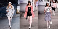 Chanel Had An Actual Cruise Ship On The Runway of Its Cruise 2019 Show - HarpersBAZAAR.com