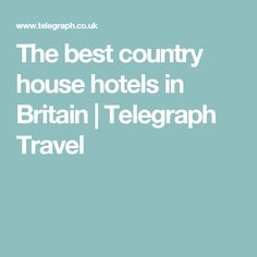 Britain's best country house hotels for a break close to home when this is all over Country Walk, Country House Hotels, Cool Countries, Packing Light, Staycation, Britain, United Kingdom, Ireland, Good Things