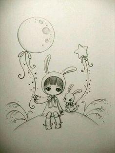 Juri Ueda Illustration