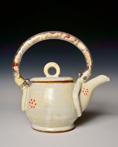 Tea by the Sea Teapot by VickiFinkelCeramics on Etsy, $395.00