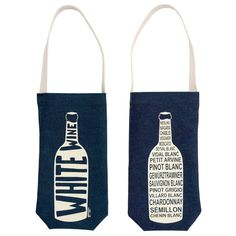 WE ♥ THIS! Super cute gift bag idea for wine!  :.D  ----------------------------- Original Pin Caption: