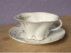German tea cup Rosenthal blue flowers antique by ShoponSherman