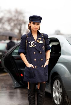 chanel version of a peacoat. much better.