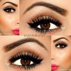great eye colors for brown eyes girls.