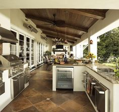 Find other ideas: DIY Outdoor Kitchen And Pool Layout Outdoor Kitchen and Pergola Ideas Rustic Outdoor Kitchen On A Budget Small Outdoor Kitchen Patio On Deck Outdoor Kitchen Covered Design Outdoor Kitchen Patio, Outdoor Kitchen Design, Patio Design, Outdoor Rooms, Outdoor Living, House Design, Floor Design, Outdoor Photos, Covered Outdoor Kitchens