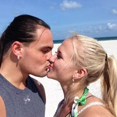 Taylor Rotunda (WWE Superstar Bo Dallas) and his new wife Sarah Backman (former NXT Diva Shara)